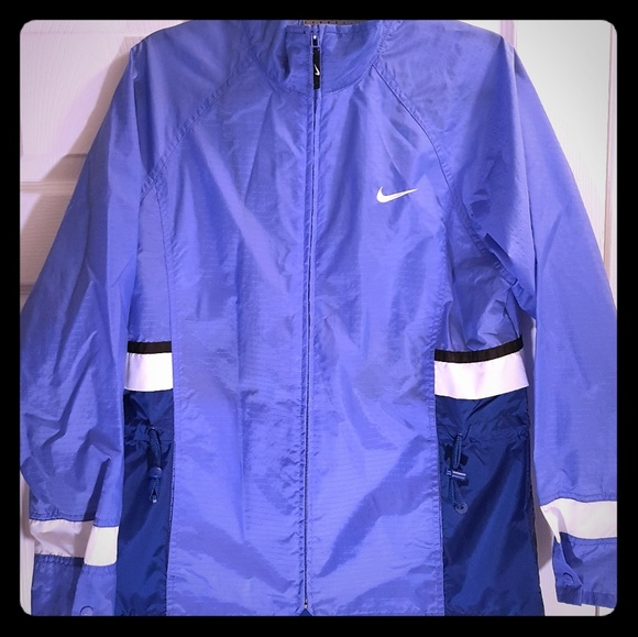 Nike Jackets & Blazers - Women's Nike Blue Windbreaker Vintage Medium